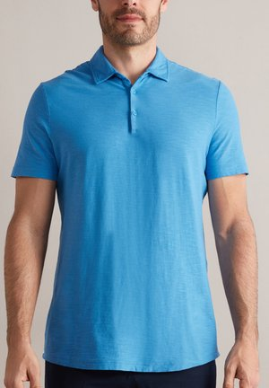 AUS TWIST - Polo shirt - azzurro capri