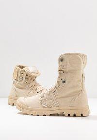 Palladium - PALLABROUSE BAGGY - Lace-up ankle boots - sahara/safari - 7