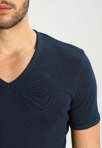 G-Star - BASE V-NECK T S/S 2-PACK - T-shirt basique - legion blue - 4
