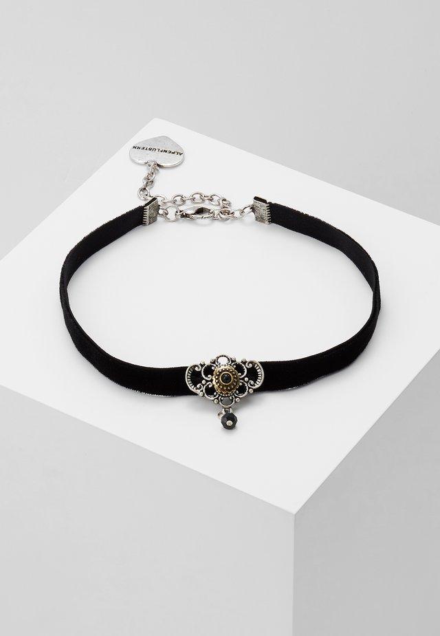 KROPFBAND HEDY - Necklace - schwarz