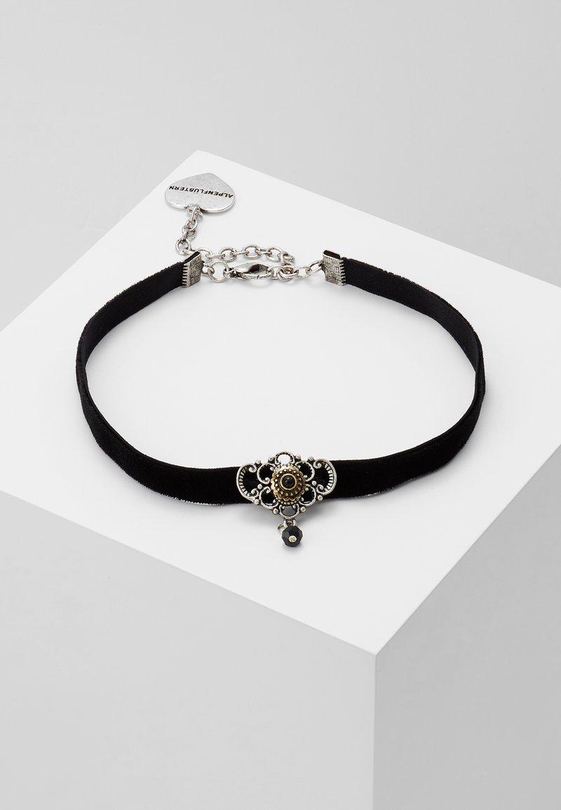 Alpenflüstern - KROPFBAND HEDY - Necklace - schwarz