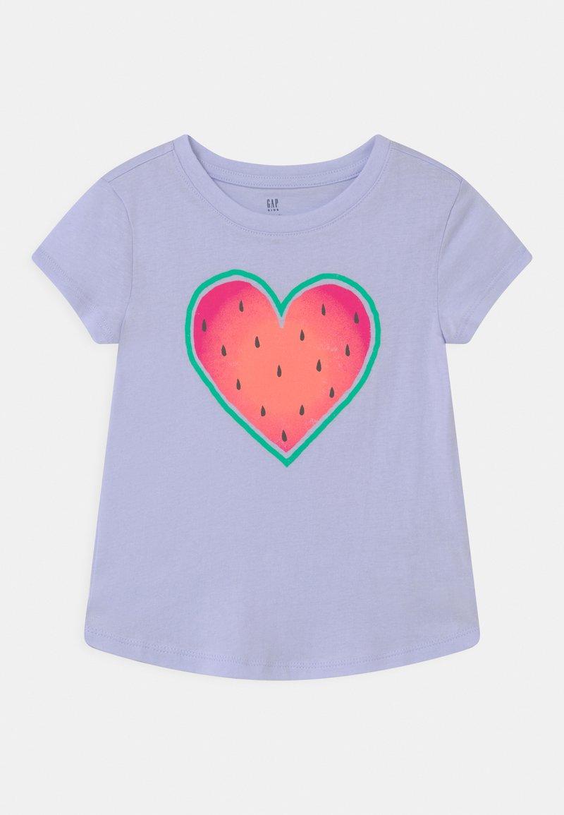 GAP - Print T-shirt - sunrise blue