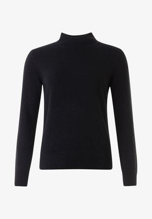 ALEX - Stickad tröja - black