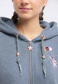 myMo - Zip-up hoodie - marine melange - 3