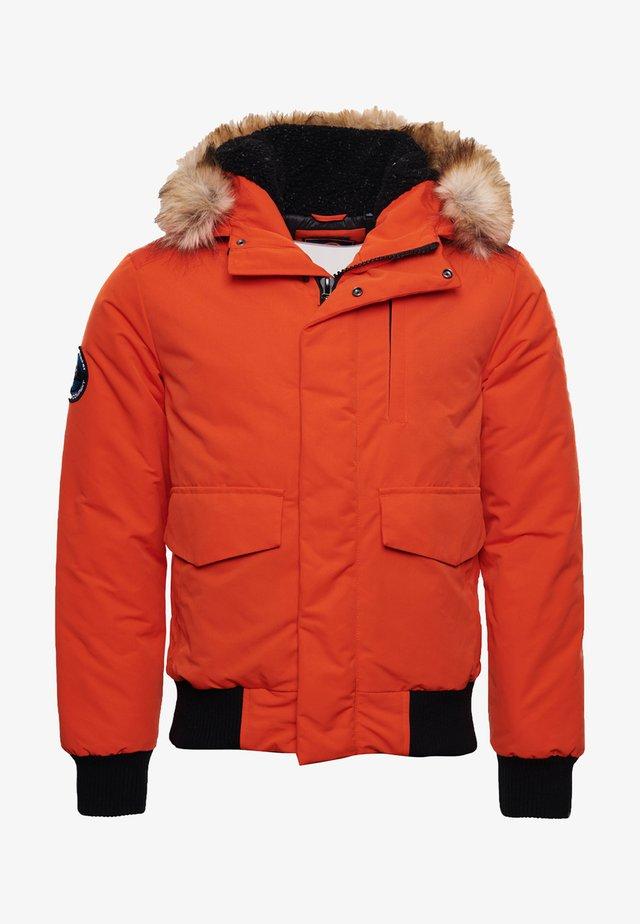 EVEREST - Kurtka zimowa - orange