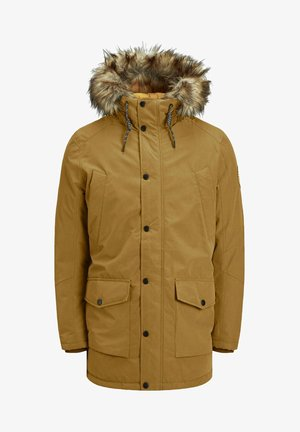 Winter coat - golden brown