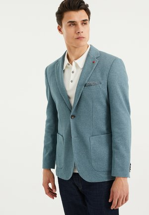 Suit jacket - greyish green