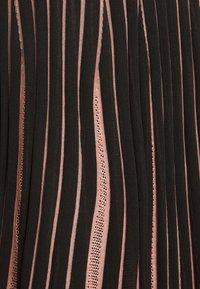 Diane von Furstenberg - EDELINE - Maxi dress - black/pale pink - 6