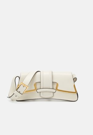 SHOULDER BAG SMALL BUCKLE - Across body bag - beige
