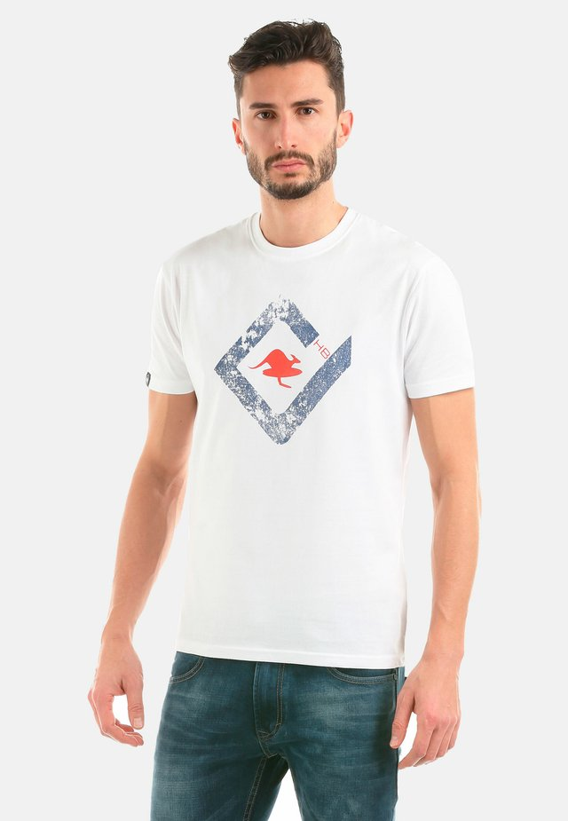 JUMP - T-shirt con stampa - white