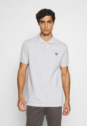 Polo - light grey marl