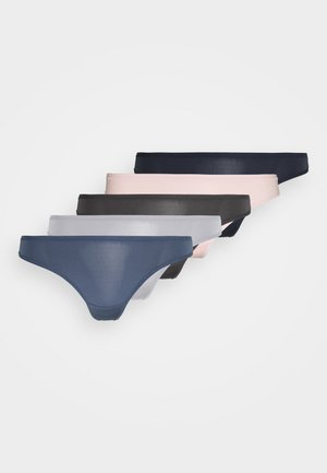 TONAL THONG 5 PACK - Thong - blue mix
