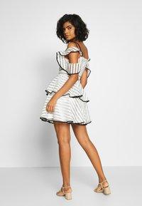 U Collection by Forever Unique - Suknia balowa - white/black - 2