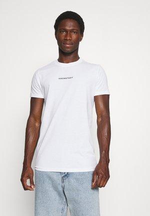 TIMMI LOGO TEE - T-shirt print - white