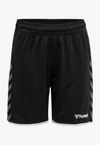 Hummel - AUTHENTIC KIDS POLY SHORTS - Sports shorts - black/white - 0