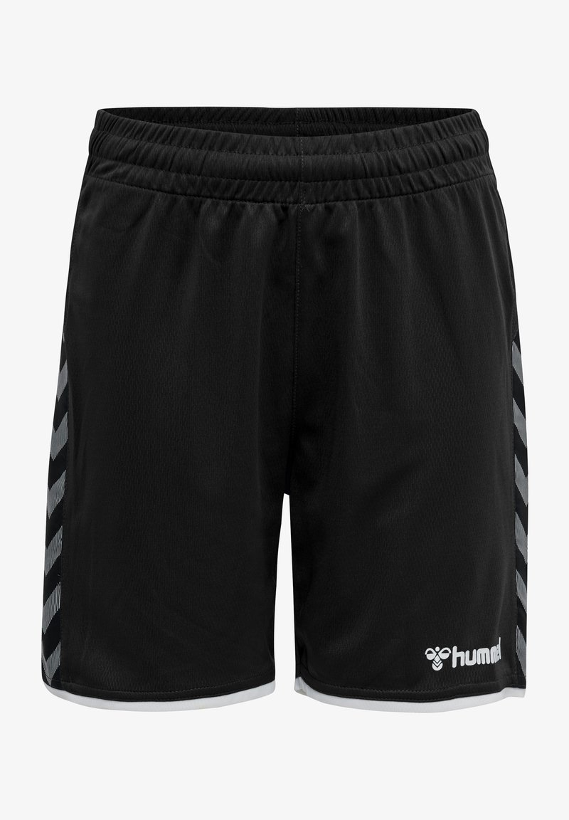 Hummel - AUTHENTIC KIDS POLY SHORTS - Sports shorts - black/white