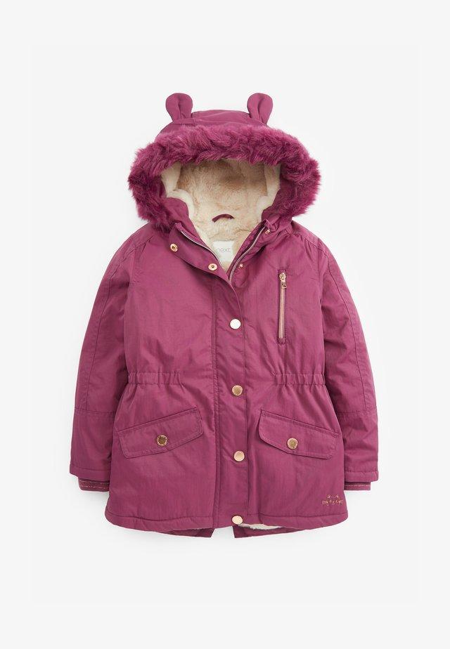 Zimní kabát - purple