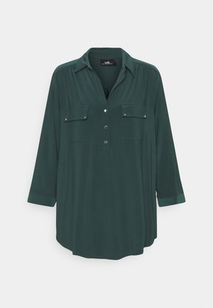 PLAIN - Long sleeved top - forest green