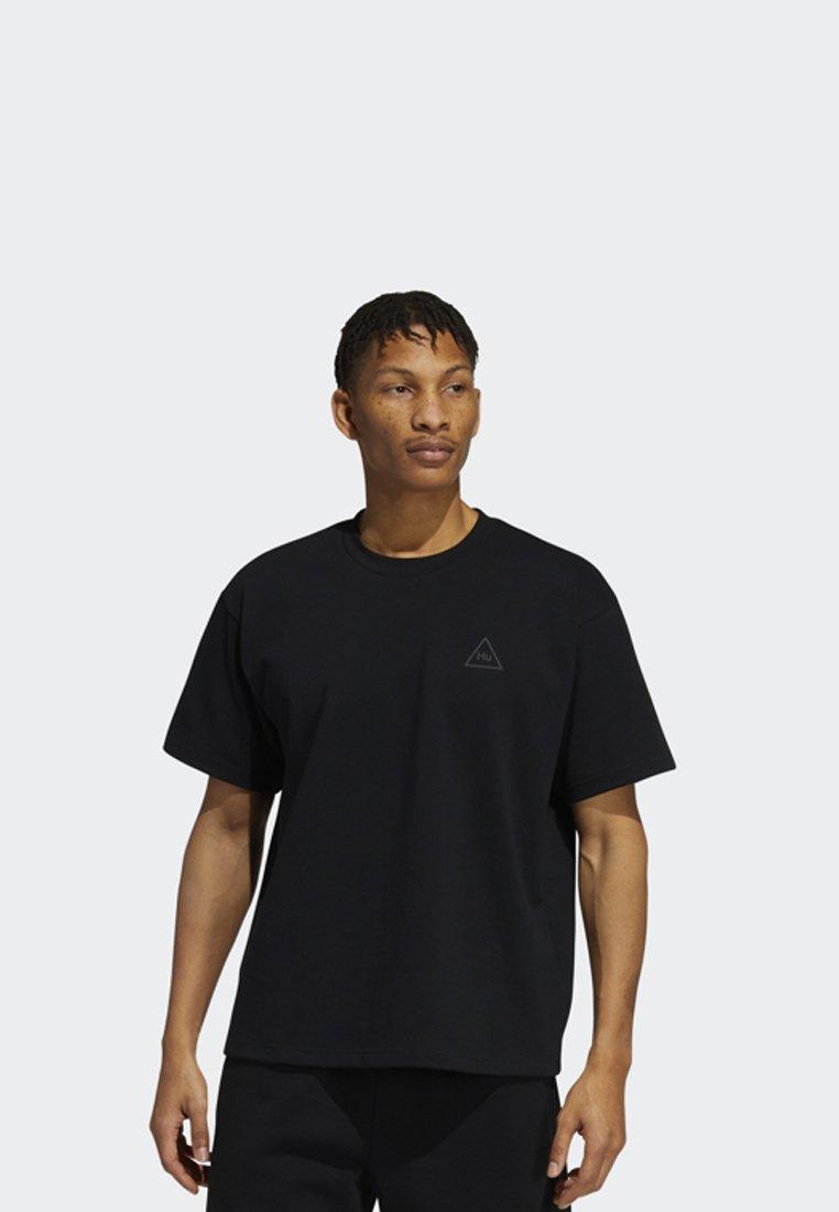 adidas Originals - PHARRELL TEE - T-shirt med print - black