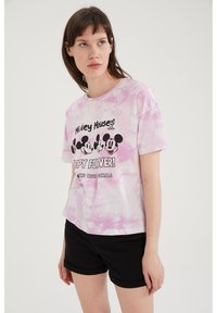 DeFacto - DISNEY - Print T-shirt - pink - 0