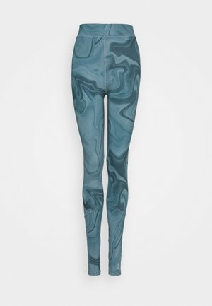 ONPSMAYA LIFE TRAIN TIGHTS - Leggings - goblin blue