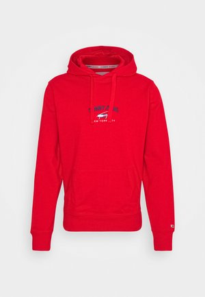 TIMELESS HOODIE - Sweat à capuche - deep crimson