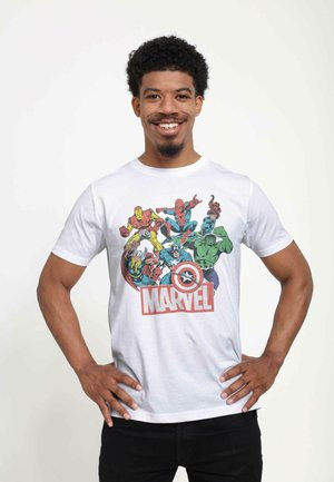 MARVEL UNISEX HEROES OF TODAY - Print T-shirt - white