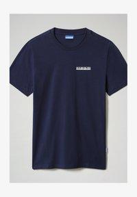Napapijri - S SURF - Print T-shirt - medieval blue - 3