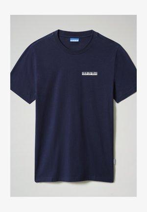 S SURF - T-shirt print - medieval blue