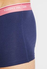 Tommy Hilfiger - 3 PACK - Pants - dark blue/light pink/light green - 4
