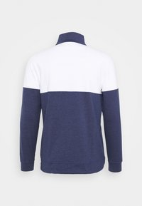 Puma Golf - CLOUDSPUN WARM UP ZIP - Sweatshirt - peacoat/bright white - 1