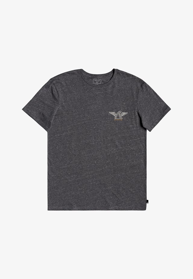 LOCAL SHAPER - Print T-shirt - charcoal heather