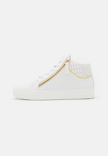 LEGACY MID CUT - High-top trainers - white/gold