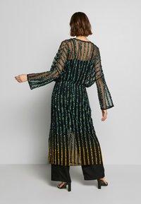 MANÉ - CETO DRAWSTRING - Summer jacket - washed black/emerald - 2