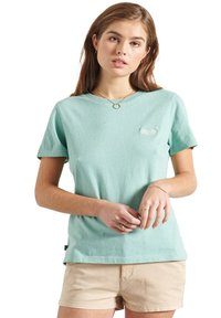 Superdry - CLASSIC  - Print T-shirt - sage marl - 0
