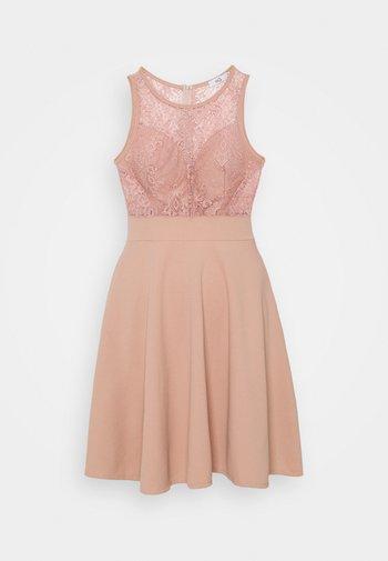 COLT INSERT SKATER DRESS - Vestito elegante - blush pink