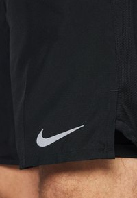 Nike Performance - CHALLENGER - Sports shorts - black/silver - 5