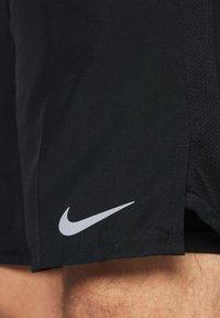 Nike Performance - CHALLENGER - Korte broeken - black/silver - 5