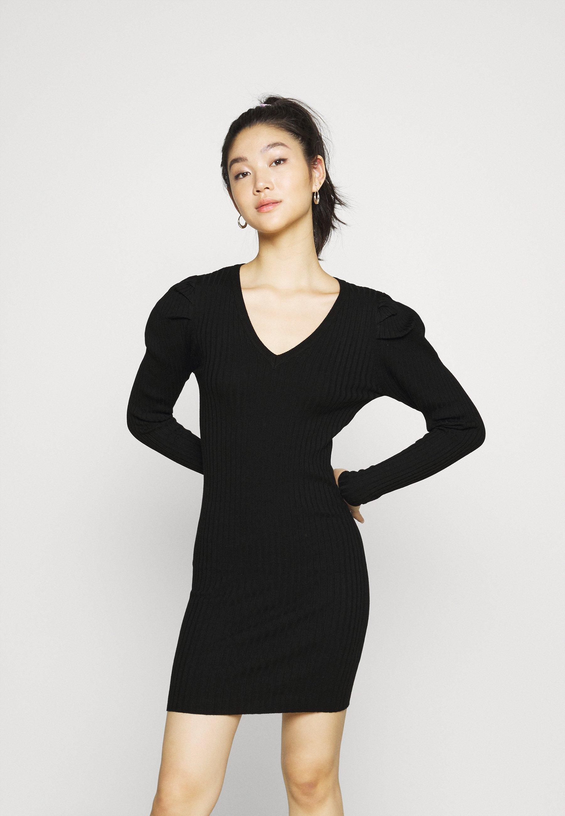 Femme ONLBALOO PUFF DRESS  - Robe pull