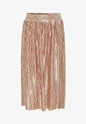Pleated skirt - mellow yellow