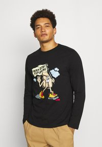 The North Face - GRAPHIC  - Long sleeved top - black - 0