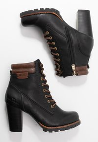 TOM TAILOR - Ankle boots - black - 3