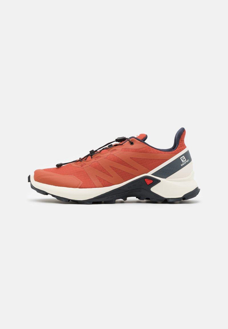 Salomon - SUPERCROSS - Běžecké boty do terénu - burnt brick/vanila/india ink