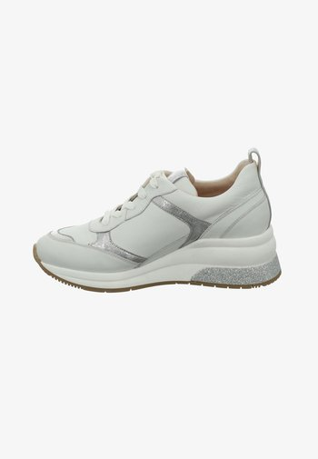 AFFI - Trainers - weiss-silber