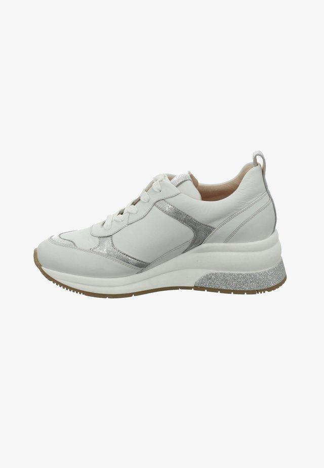 AFFI - Sneakers laag - weiss-silber