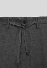 Massimo Dutti - CASUAL FIT - Trousers - grey - 5