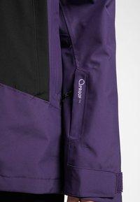 Haglöfs - LUMI JACKET - Ski jacket - purple rain/true black - 3