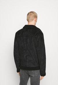 Nominal - AVIATOR  - Faux leather jacket - black - 2