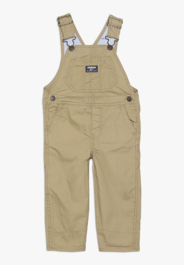 TODDLER OVERALL - Peto - brown