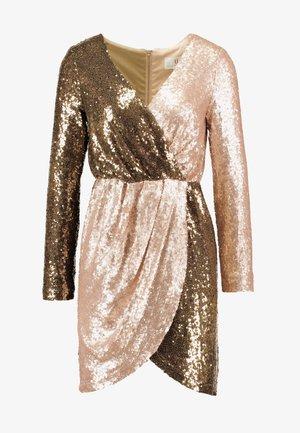 CILLA - Cocktail dress / Party dress - khaki/gold